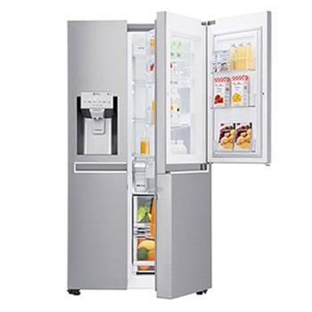 Side By Side Kühlschrank Einbau side by side kühlschränke amerikanische kühlschränke lg deutschland