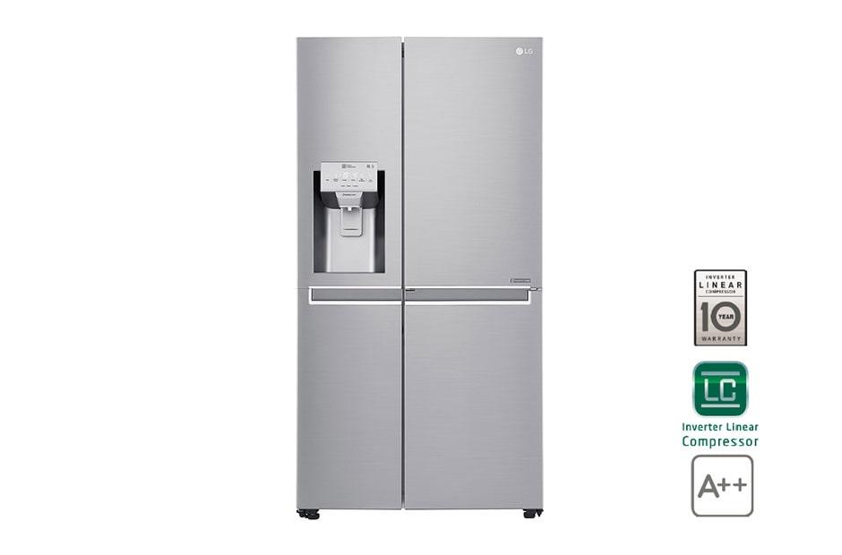 Side By Side Kühlschrank Gebraucht : Lg gsj nsuz side by side kühlschrank a lg deutschland