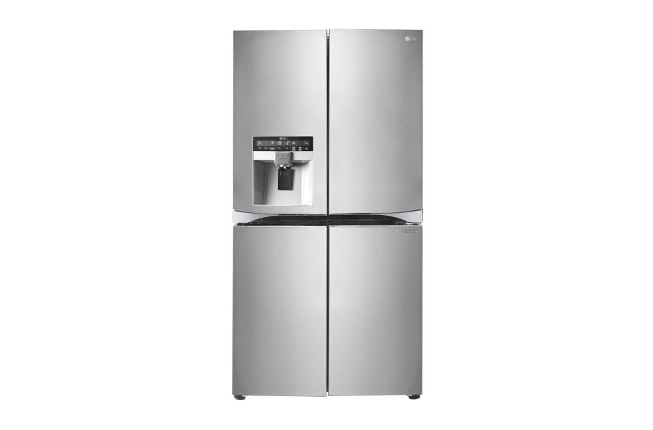 Kühlschrank Und Gefrierschrank Side By Side : Lg multi door side by side mit türen a eis und