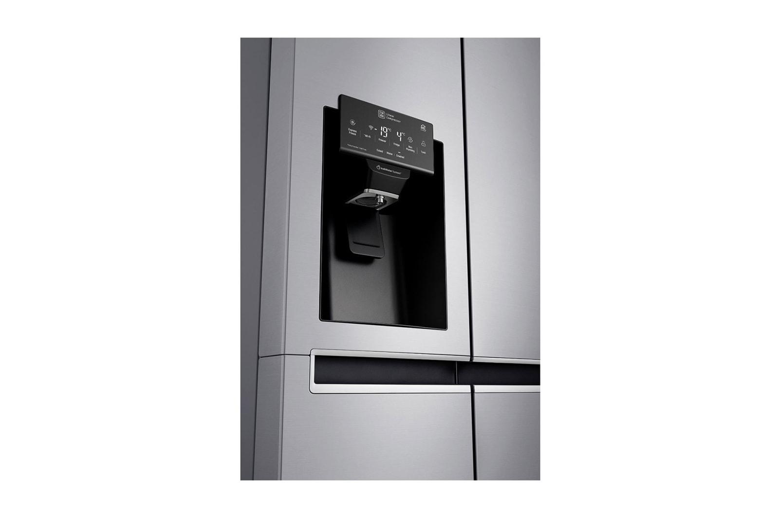 Side By Side Kühlschrank Wasseranschluss : Lg gsl461icez side by side kühlschrank a lg deutschland