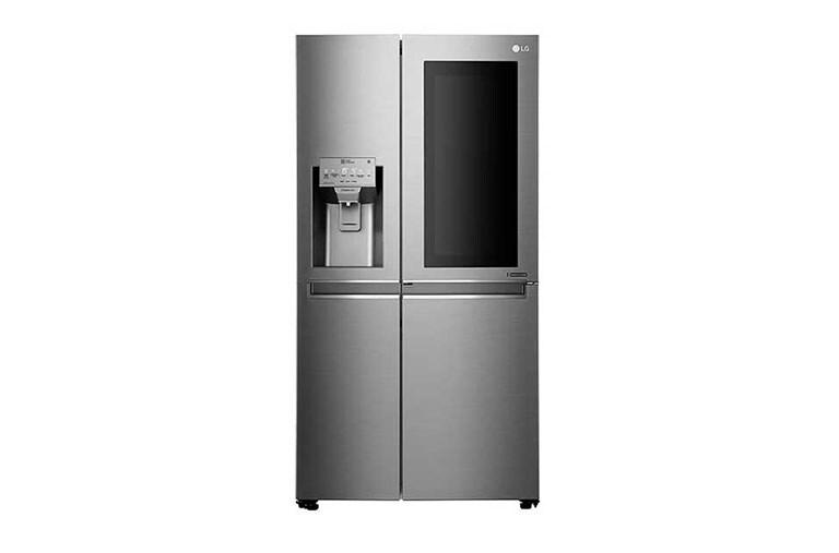 Kühlschrank Und Gefrierschrank Side By Side : Lg gsx neaz side by side kühlschrank a lg deutschland