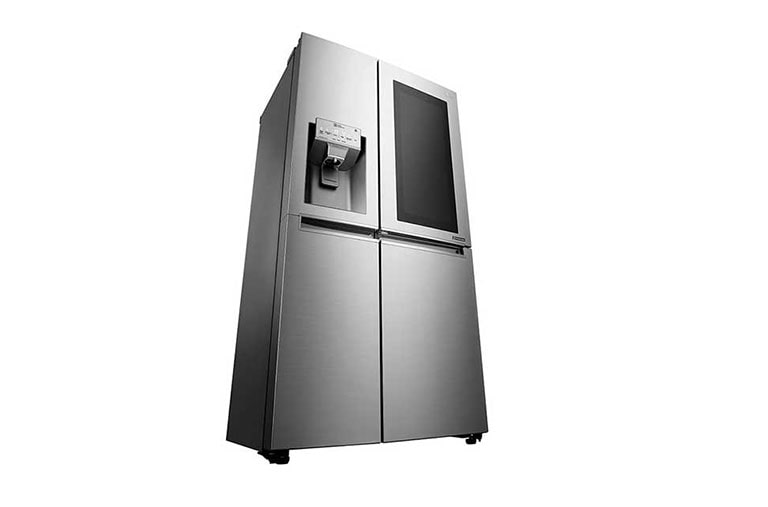 lg side by side instaview door in door festwasseranschluss total no frost a smarte. Black Bedroom Furniture Sets. Home Design Ideas