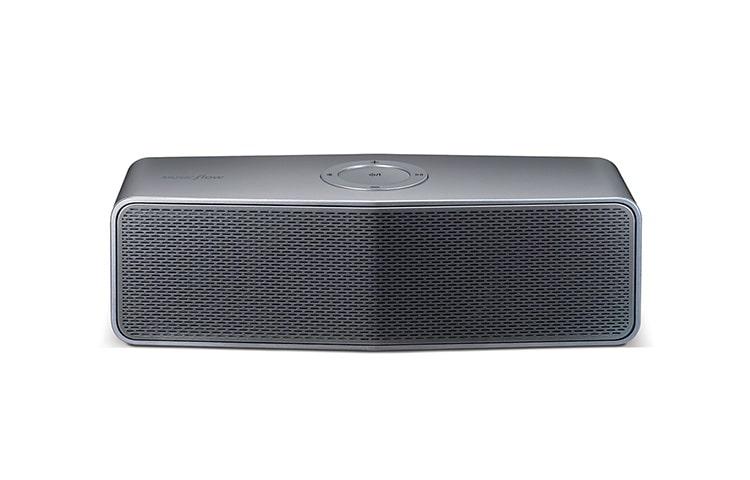 lg tragbarer bluetooth lautsprecher mit 2 0 soundsystem und integriertem akku lg deutschland. Black Bedroom Furniture Sets. Home Design Ideas