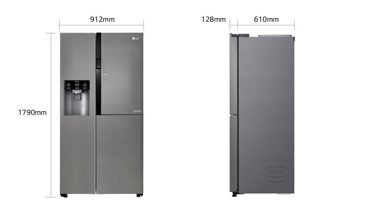 Side By Side Kühlschrank Mit Festwasseranschluss : Side by side kühlschrank ohne gefrierfach luxus side by side