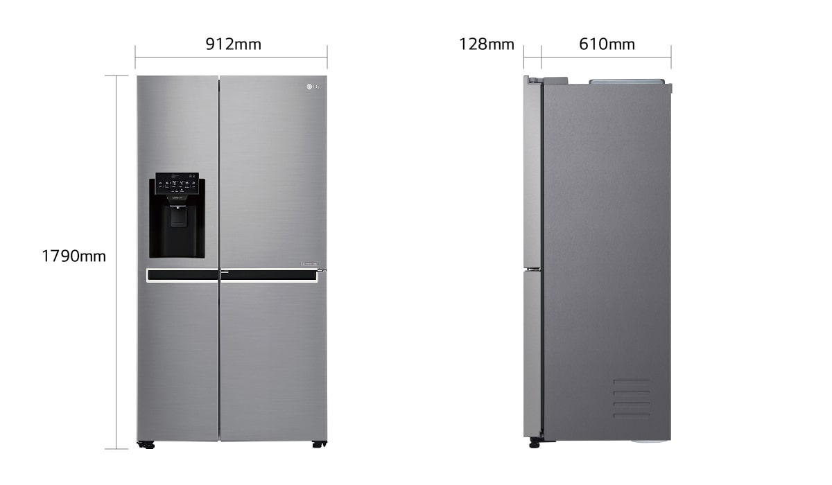 Side By Side Kühlschrank Bestenliste : Kühlschrank mit eiswürfelbereiter: french door kühlschränke mit