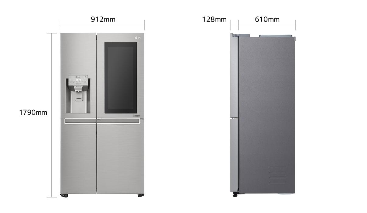 LG InstaView Door-in-Door™ KNOCK TWICE, SEE INSIDE | LG Deutschland