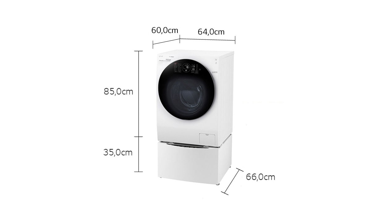 lg twinwash waschmaschine 10 kg mini waschmaschine 2kg a 40 dampffunktion lg. Black Bedroom Furniture Sets. Home Design Ideas