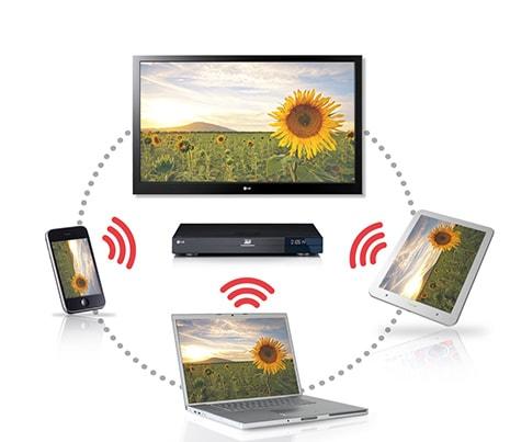 lg bp620 3d blu ray player smart tv dlna wlan hdmi. Black Bedroom Furniture Sets. Home Design Ideas