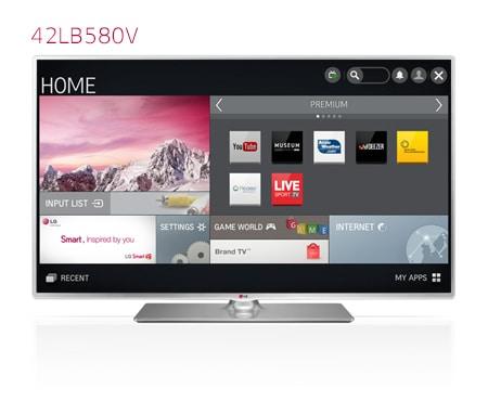 lg 42lb580v smart tv 42 zoll lg deutschland. Black Bedroom Furniture Sets. Home Design Ideas