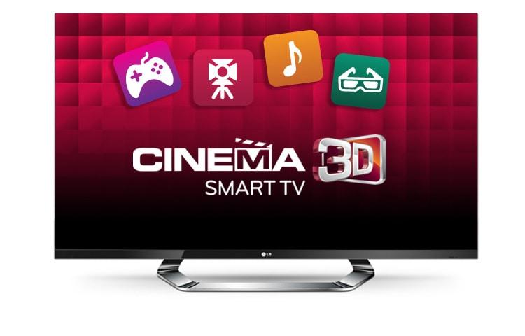 Lg Cinema 3d Tv Mit Led Plus 140 Cm 55 Zoll Bildschirmdiagonale