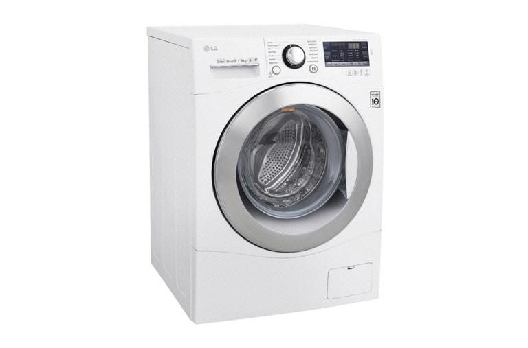 Lg waschtrockner der energieeffizienzklasse a mit 6 motion