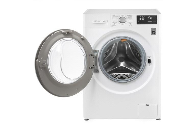 Lg waschtrockner mit motion direct drive™ technologie kg