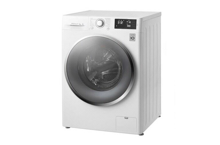 Lg waschtrockner mit 6 motion direct drive™ technologie. 7 kg
