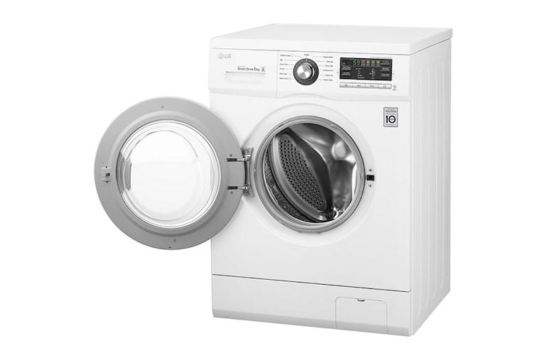 lg f1296ndah waschmaschine mit a und 6 motion directdrive. Black Bedroom Furniture Sets. Home Design Ideas