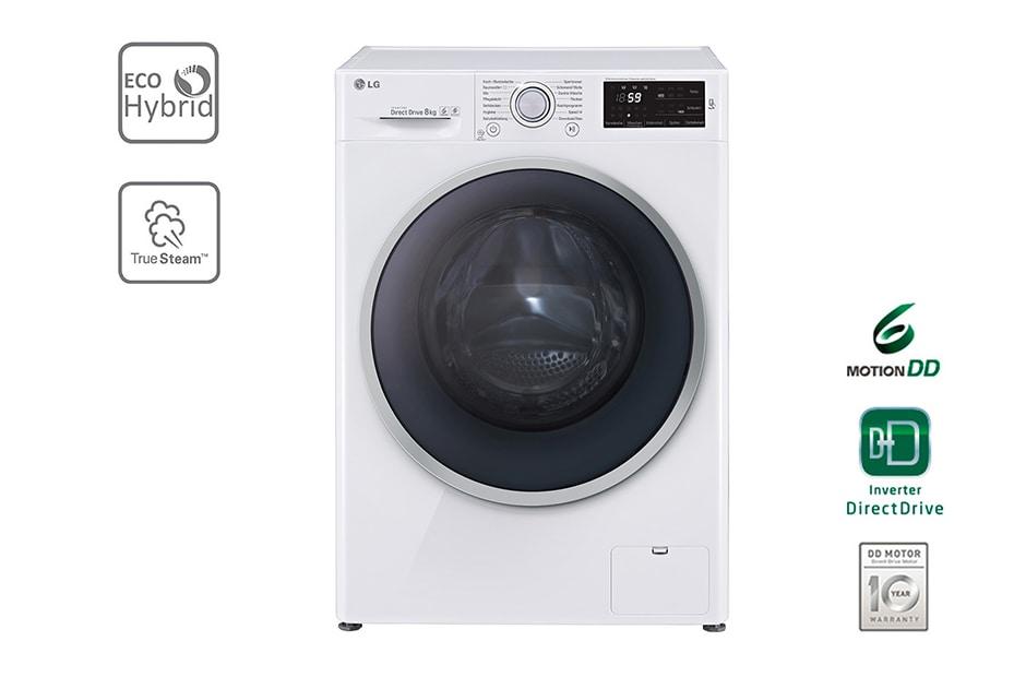 lg waschtrockner mit eco hybrid system nfc und 6 motion directdrive 8 kg waschen 5 kg. Black Bedroom Furniture Sets. Home Design Ideas