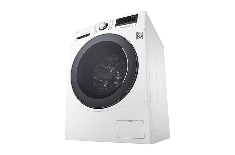 Lg waschtrockner mit eco hybrid system nfc und motion