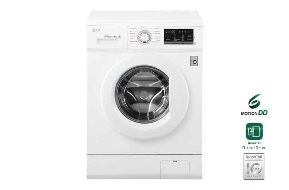 lg waschmaschine mit bis zu 8 kg fassungsverm gen und 6. Black Bedroom Furniture Sets. Home Design Ideas