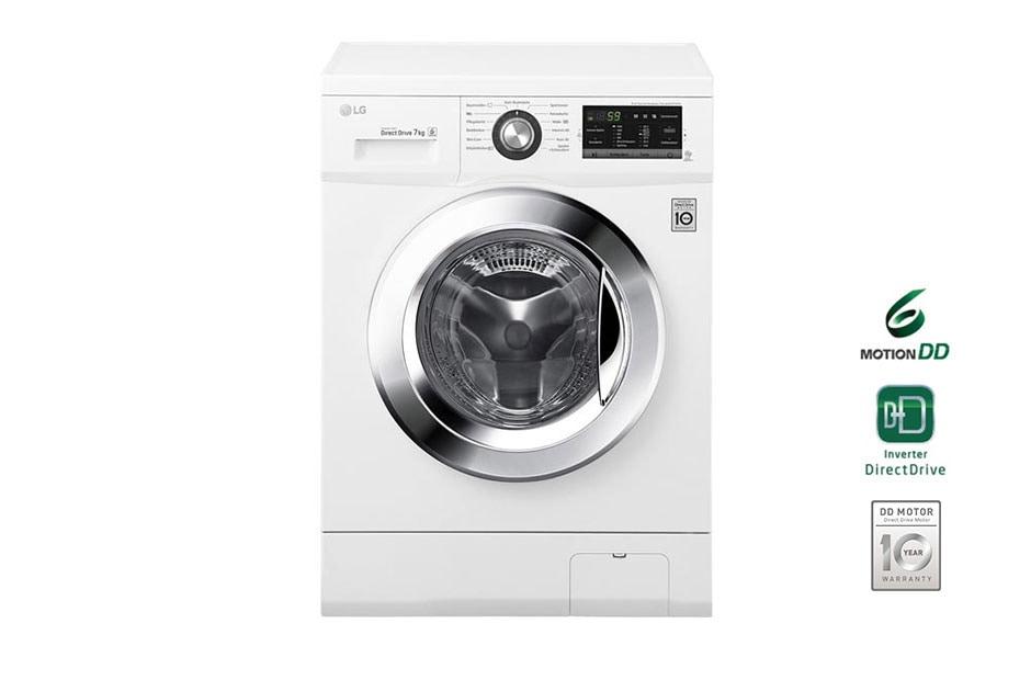 lg waschmaschine mit bis zu 7 kg fassungsverm gen und 6. Black Bedroom Furniture Sets. Home Design Ideas