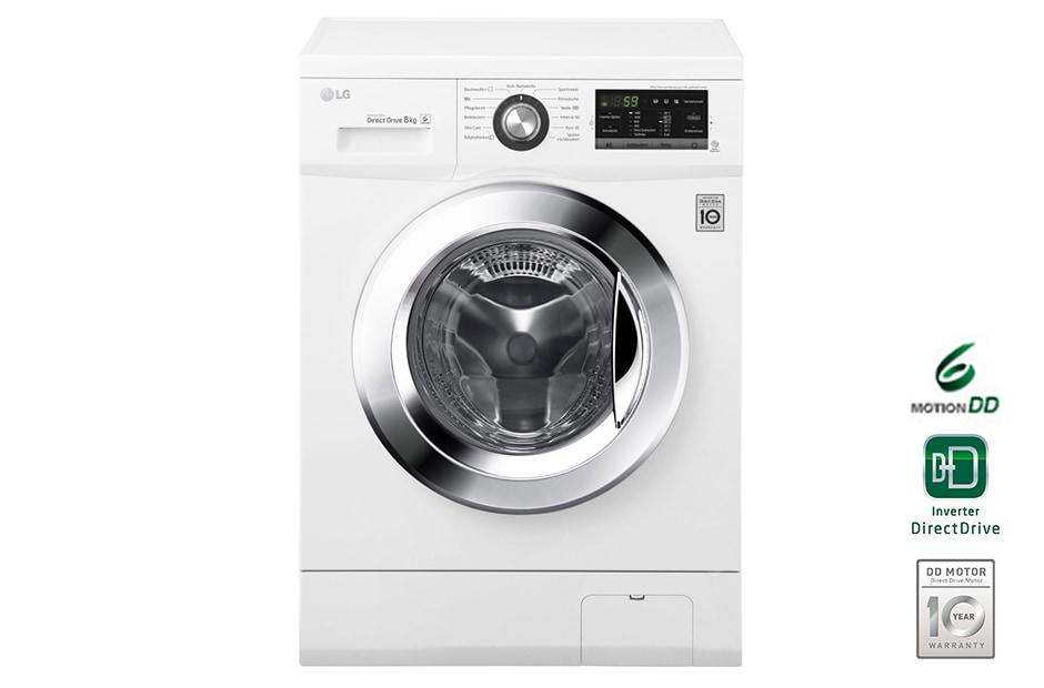 lg waschmaschine mit bis zu 8 kg fassungsverm gen und 6 motion direct drive lg deutschland. Black Bedroom Furniture Sets. Home Design Ideas