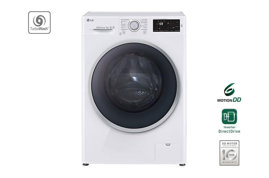 lg waschmaschine mit turbowash 7 kg fassungsverm gen und tag on nfc funktion lg deutschland. Black Bedroom Furniture Sets. Home Design Ideas
