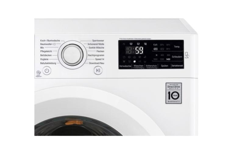 lg waschmaschine mit 6 motion direct drive 9 kg fassungsverm gen und turbowash lg deutschland. Black Bedroom Furniture Sets. Home Design Ideas
