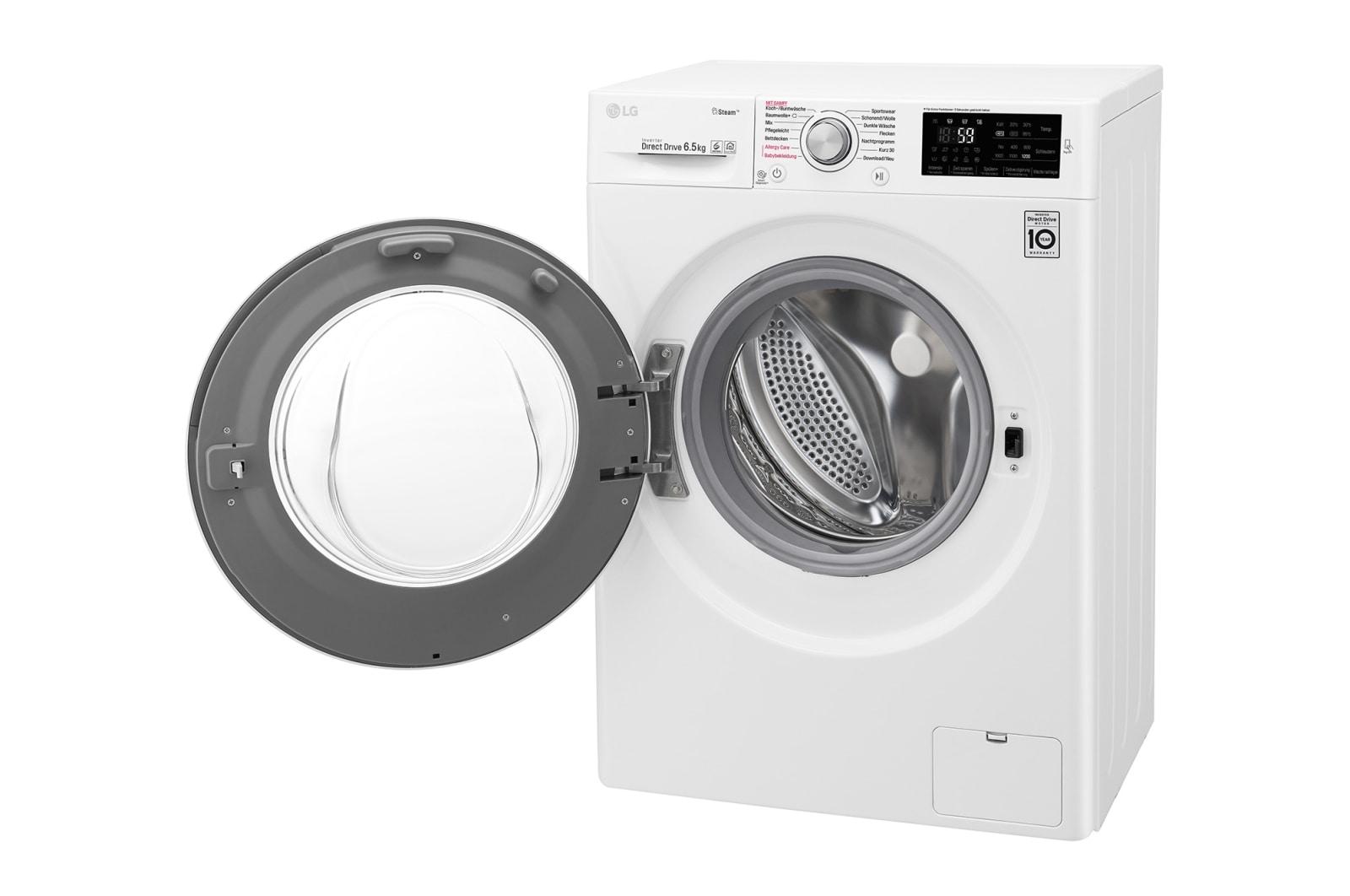 Lg waschvollautomat i nur 45cm tiefe i dampffunktion i nfc