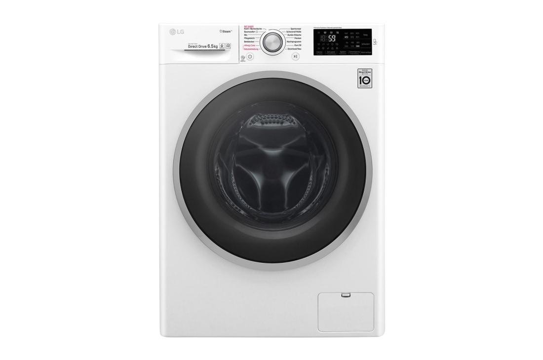 Lg waschvollautomat i nur cm tiefe i dampffunktion i nfc