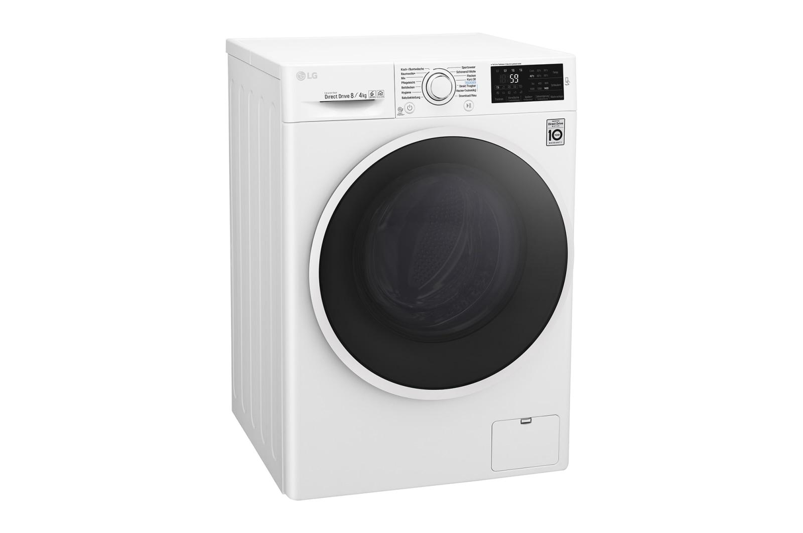 Lg waschtrockner serie 5 8 kg waschen 4 kg trocknen a