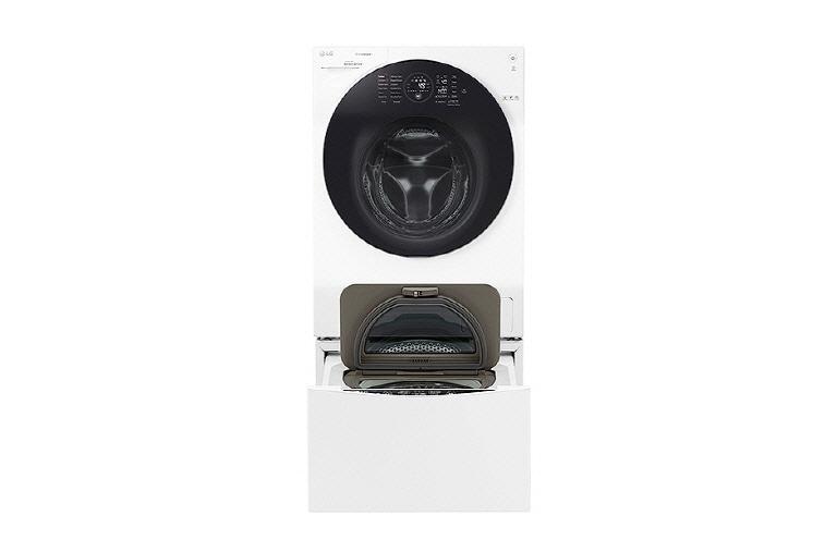 Lg twinwash™: waschtrockner 12 8 kg mini waschmaschine 2kg a