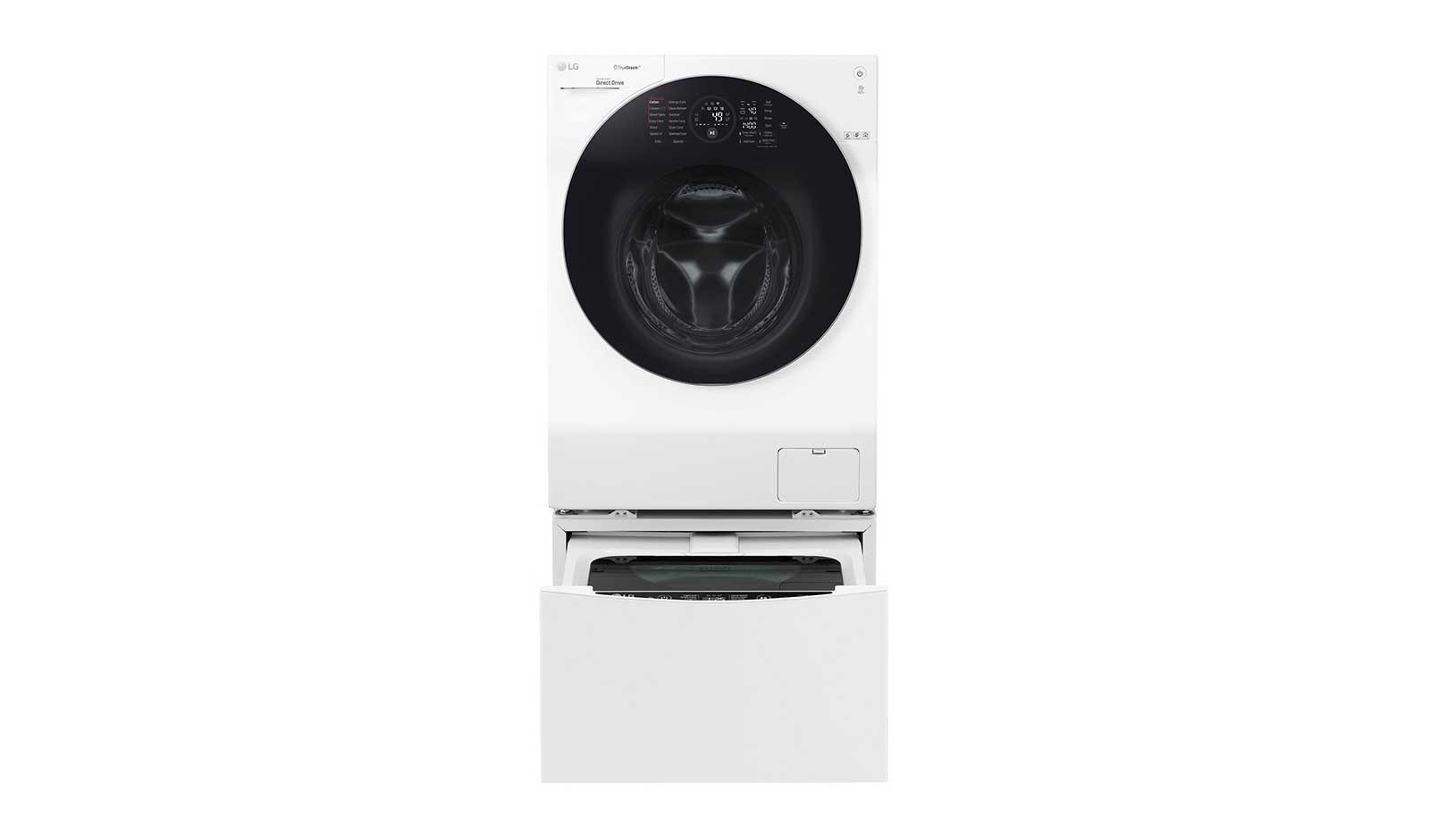Lg twinwash™: waschmaschine 12 kg mini waschmaschine 2kg a 60