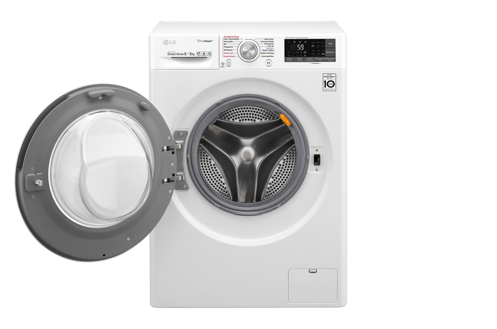 Lg waschtrockner kg waschen kg trocknen truesteam™ wlan
