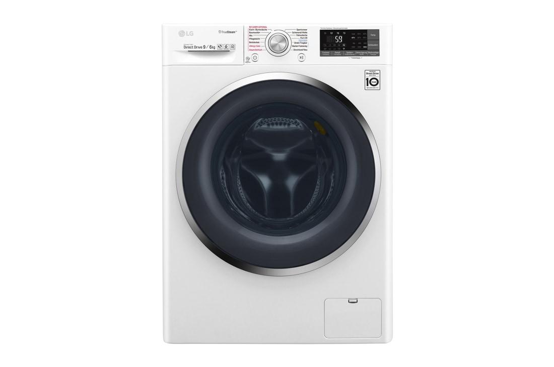 lg waschtrockner 9 kg waschen 6 kg trocknen truesteam wlan funktion add item chrom. Black Bedroom Furniture Sets. Home Design Ideas