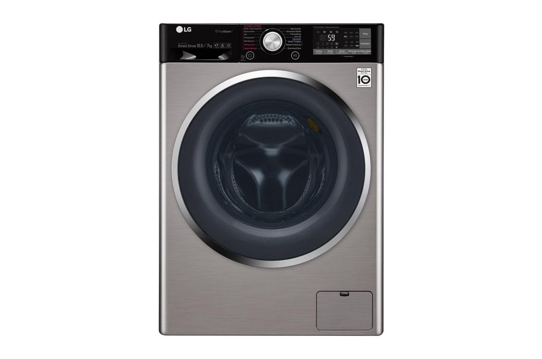 Lg waschtrockner 10 5 kg waschen 7 kg trocknen truesteam™ wlan