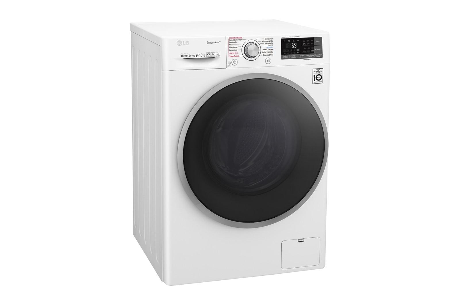 Lg waschtrockner 9 kg waschen 6 kg trocknen truesteam™ wlan