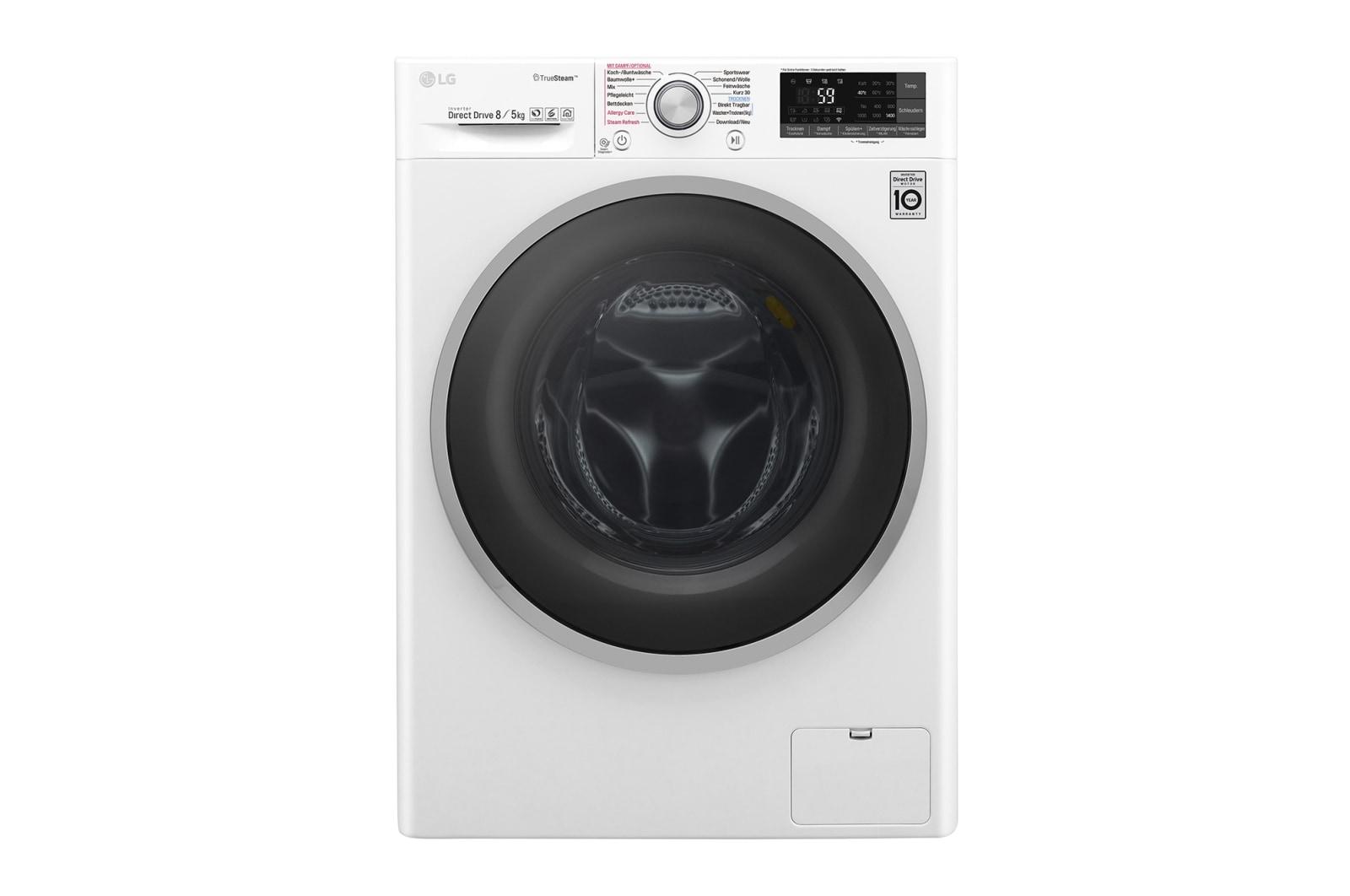 Lg waschtrockner kg waschen kg trocknen i truesteam™ premium