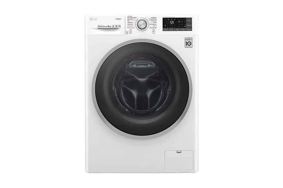 lg waschmaschine 8kg steam smart thinq aqua lock mit energieeffizienzklasse a lg. Black Bedroom Furniture Sets. Home Design Ideas