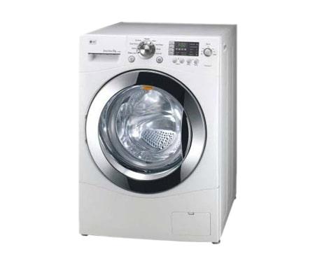 Lg waschtrockner mit direct drive led display und