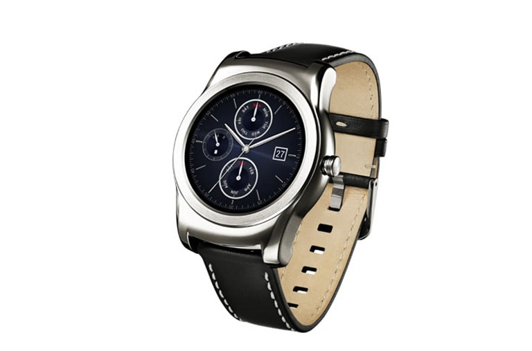 LG Alle Android Smartphones Smartwatch mit 1,2 GHz Quad-Core-Prozessor, 3,3 cm (1,3 Zoll) rundem Plastic-OLED-Display und Android Wear thumbnail +5