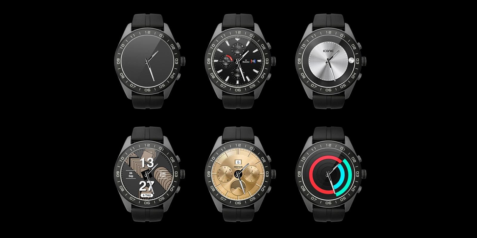 Choose your own watch face to suit your style with the all new LG Watch W7 | More at LG MAGAZINE