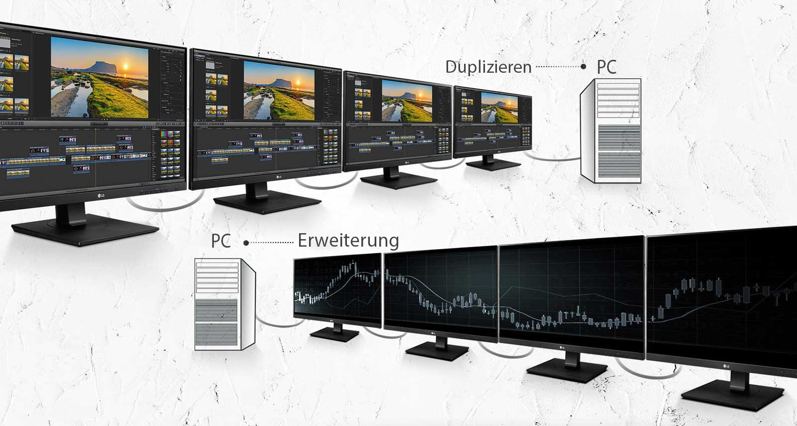duplizieren bildschirm windows 10