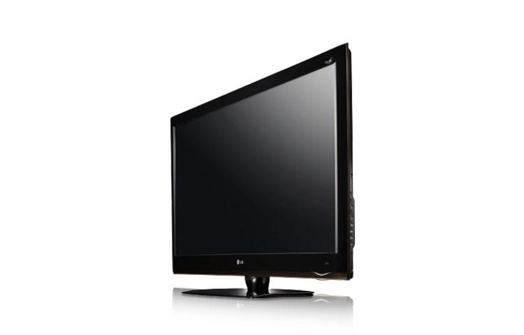 fladskærms tv i hvid
