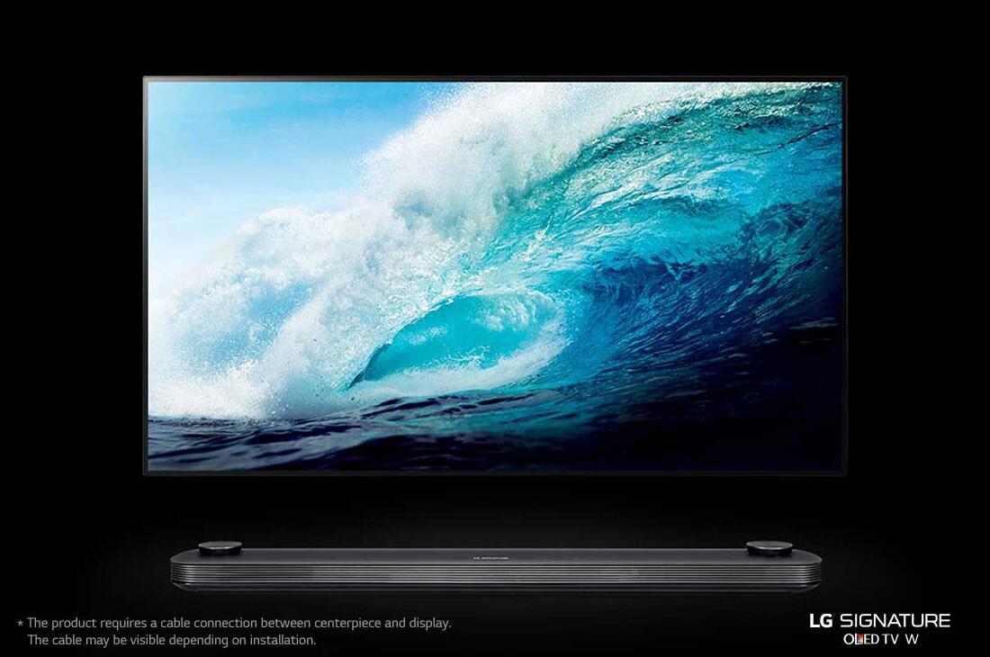 Smuk LG OLED TV - W7V 77'' | LG Danmark AF-75