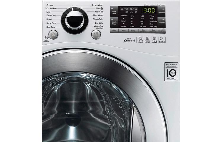Lg f14a8yd vasketørremaskine – Kleskab skuffe