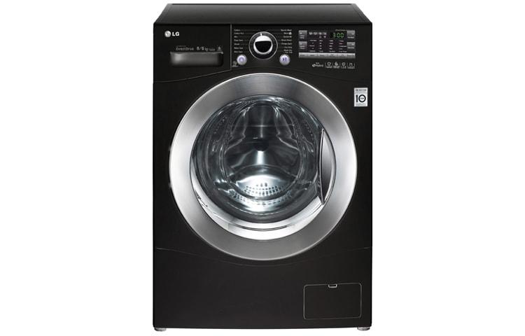 Lg vaske tørremaskine sort
