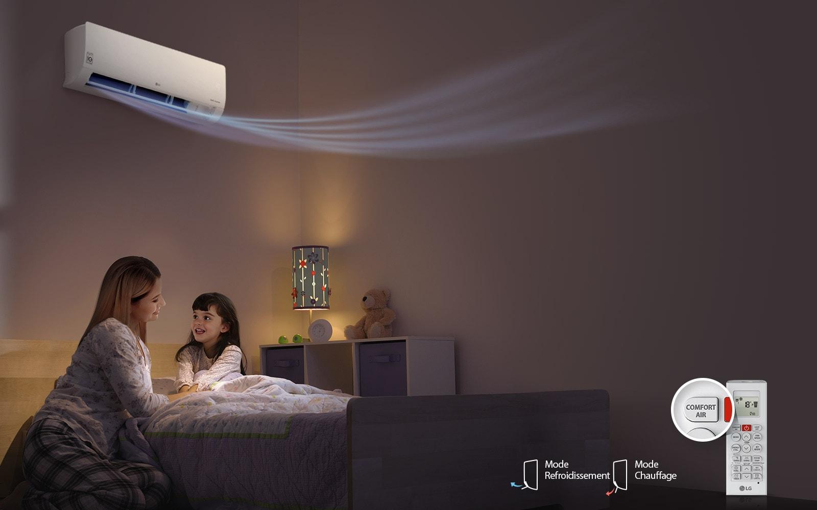 Configuration instantanée, Comfort Air