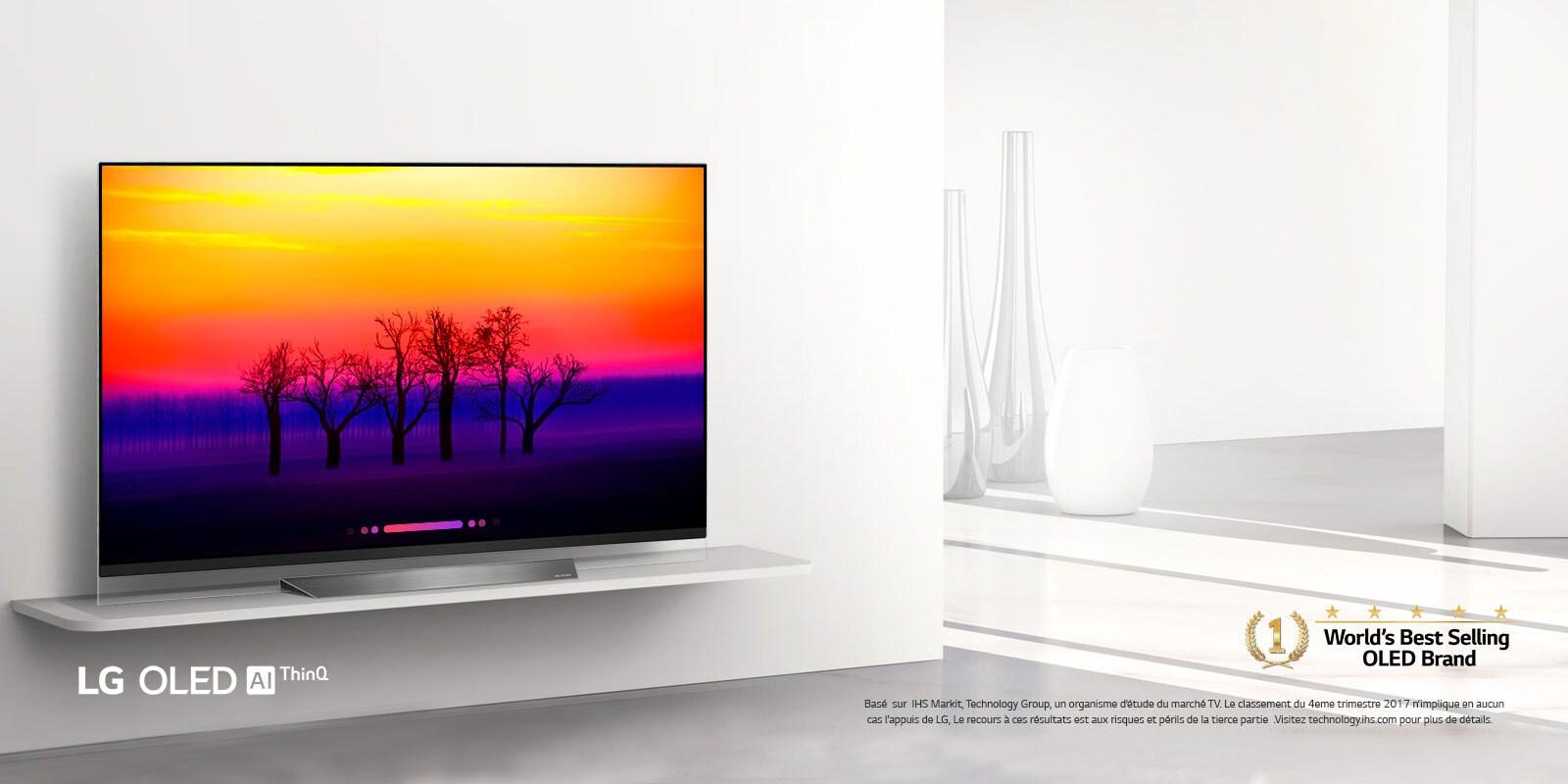 TV OLED 4K incurvées et TV OLED à écran plat | LG Algérie