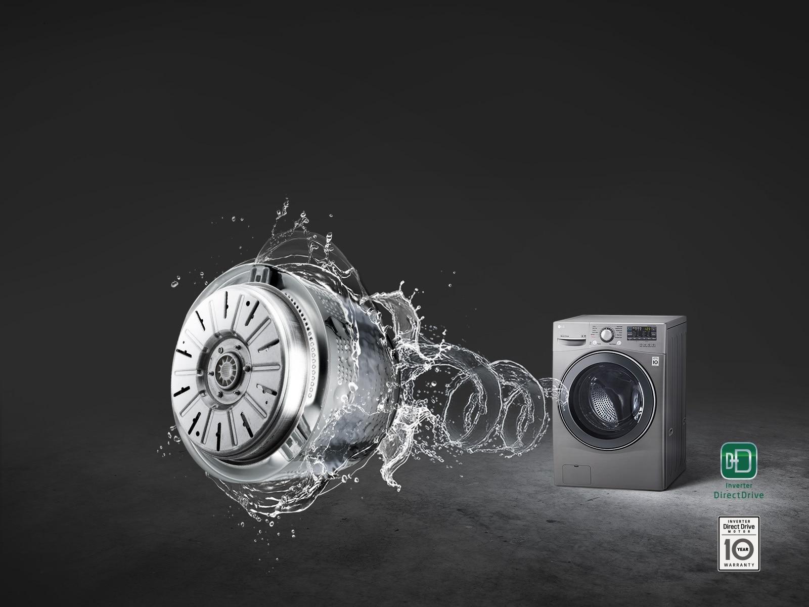 LG F0L9DYP2S Moins de vibrations, moins de bruit