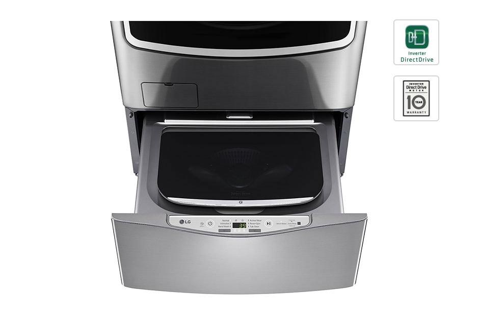 lg twinwash mini lave linge 3 5 kg smart diagnosis moteur direct drive garanti 10 ans. Black Bedroom Furniture Sets. Home Design Ideas