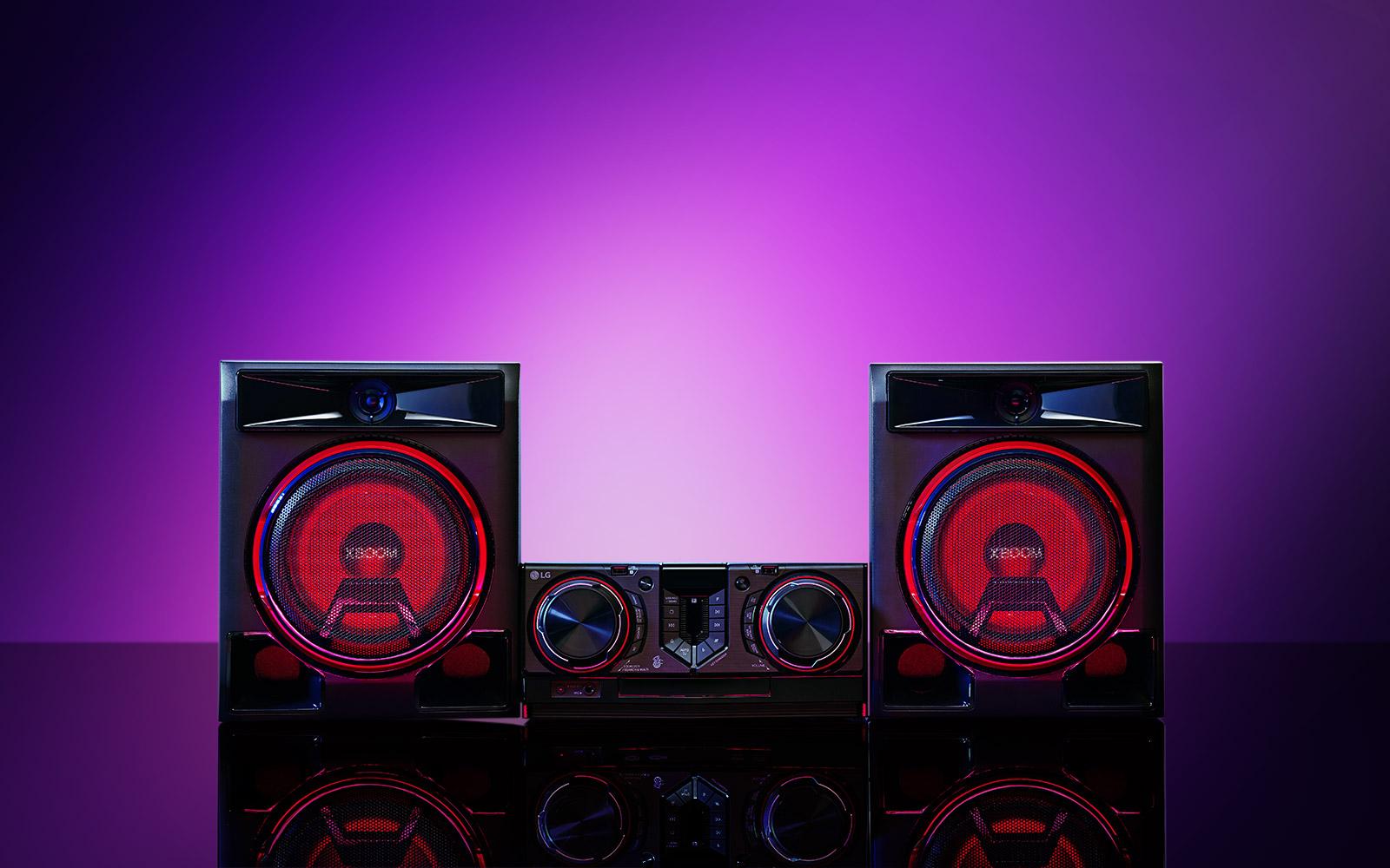 Powerful 950-Watt Sound