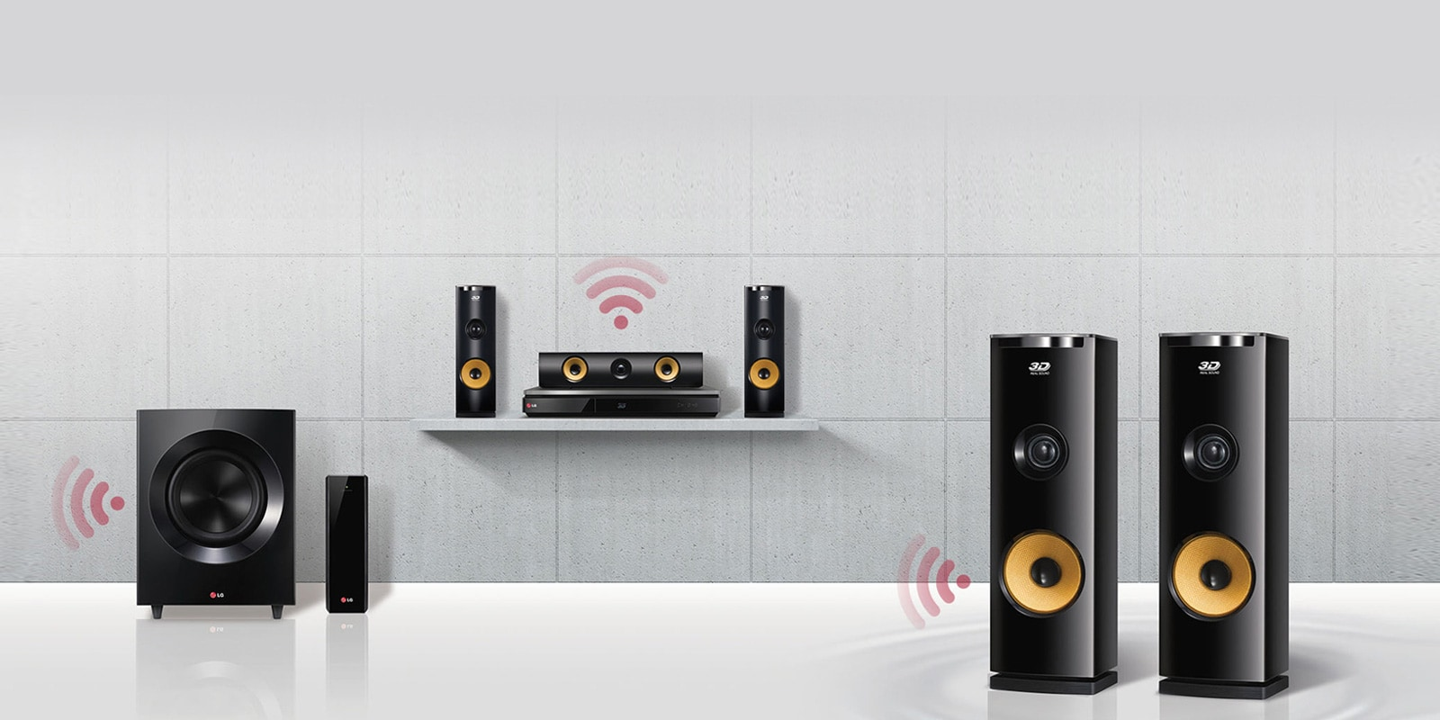 Home Audio Systems: Quality Audio Devices | LG East Africa